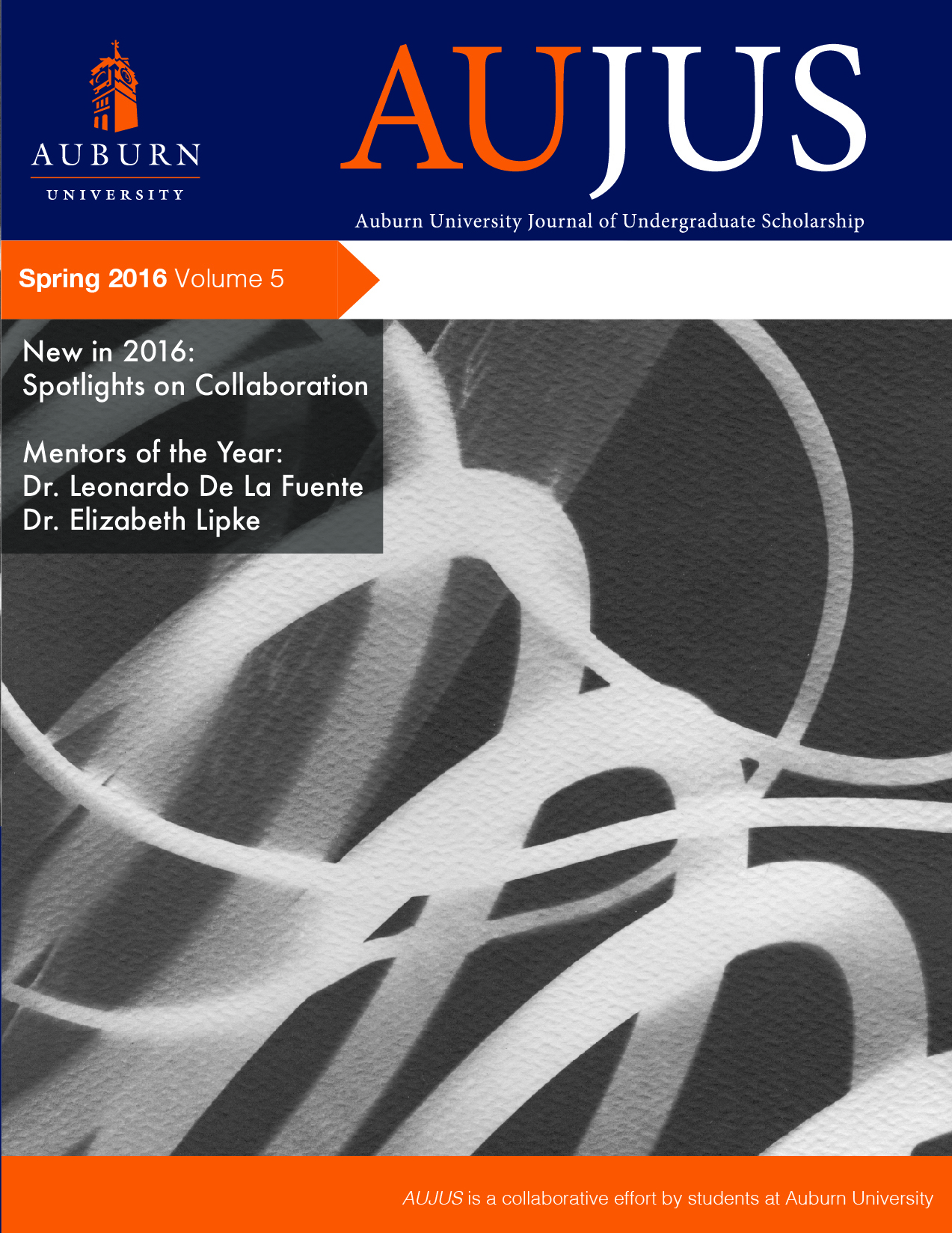 cover for current AUJUS journal